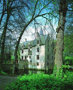 Ancient Castle, Beauvoorde, Belgium