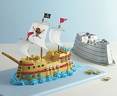 Pirate Ship Cake Pan - jcpenney