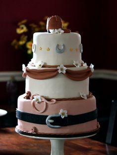elegant-western-cake-for-wedding ~ http://womenboard.net/western-wedding-cakes/