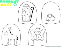 Easy DIY Nativity Set with FREE Printable