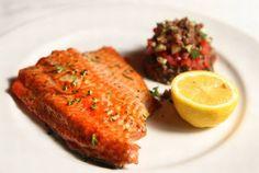 Pomegranate-Glazed Wild Salmon Recipe