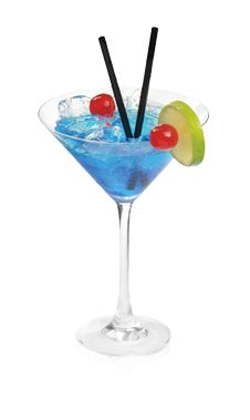PINNACLE® CLEAR SAILING 2 PARTS PINNACLE® ORANGE WHIPPED® VODKA SPLASH DEKUYPER® BLUE CURAÇAO LIQUEUR SPLASH PINEAPPLE JUICE Mix with ice in a martini glass and garnish with fruit.