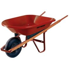 Does your sweetie love to play in the dirt? They'll love a new wheelbarrow for spring gardening projects!