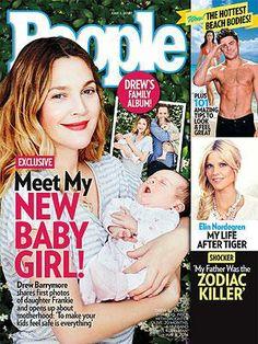 ON NEWSSTANDS 5/23/14: Drew Barrymore Introduces Daughter Frankie. Plus: The hottest beach movies and more.