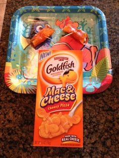 Recipe: Fish in a Blanket with the new Pepperidge Farm Goldfish Mac & Cheese ~ Trendy Mom Reviews #Recipe #PreschoolRecipe #KidsRecipe