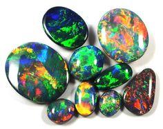 opals australia | Australian Black Opal & Boulder Opal Specialist.Solid Opals for Sale ...