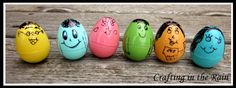 Crafting in the Rain: Easter Egg Wobble Heads