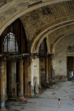 Miru Kim |   Michigan Central Station, Detroit, MI, USA
