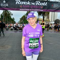 So inspirational. 91 and has completed several marathons and is a cancer-survivor.  No excuses.