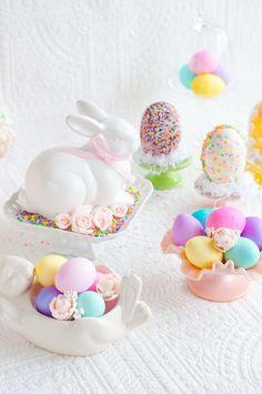 OMG! Easter table! Lulus Sweet Secrets