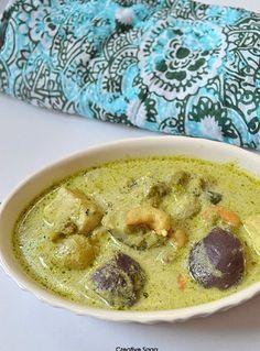 Thai green curry recipe- - Vegetarian Thai recipes