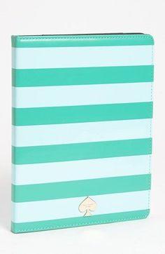 Kate Spade petula stripe' iPad case