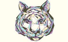 crystals, tshirt design, crystal tiger, t shirt designs, style pinboard, sonmi heglund, tigers, t shirts, throw pillow