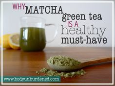 I'm sure you're familiar with the health benefits of green tea... but have you ever heard of matcha green tea? This powdered green tea contains 10X (yes, I said ten!) the antioxidants as regular ol' green tea. Natural healthy, diet, nutrition.
