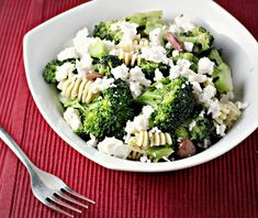 Pasta with Broccoli, Olives and Feta Recipe