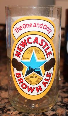 Newcastle Brown Ale Bottle Candle by CandlesByOC on Etsy, $11.00