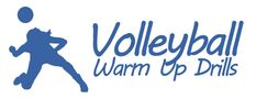 Volleyball warm up drills...  http://www.topvolleyballdrills.com/volleyball-warm-up-drills/  #volleyball #exercise #sports #drills