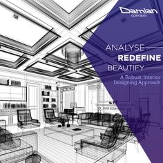 #DamianCorporate will ensure a #quality output, as we will facilitate a robust & impressive interior designing plan for your #home. Contact us today -contact@damiancorporate.com