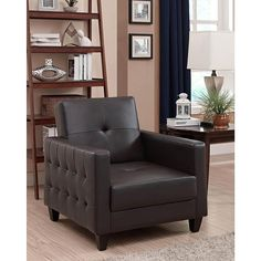 Dorel Home Furnishings Rome Chair, Multiple Colors - Home - Furniture - Living Room Furniture - Living Room Chairs