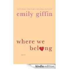 New Emily Griffin.