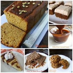 These look so good!  Pumpkin is one of my favorite things to eat – all year long. 15 Favorite Fall Recipes (paleo) from Cassidy's Craveable Creations. One of the Allergy-Free Wednesday Favorites!