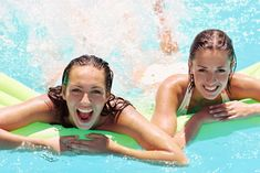 Pool Exercises-so much more fun than just working out!