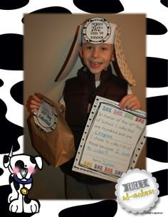 Erica's Ed-Ventures: Celebrating the 101st Day of School: Dalmatian Style