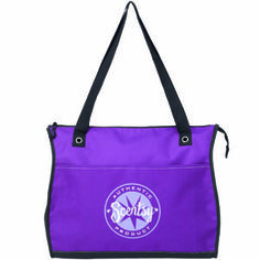 NEW Scentsy Independent Consultant Tote. Featuring a gentle curvature reminiscent of the classic curve warmer, this pretty purple tote is emblazoned with the Scentsy Authentic Product seal. A fun way to organize papers and files for your business, it makes a great gift for any member of your team. You'll want to keep one for yourself!