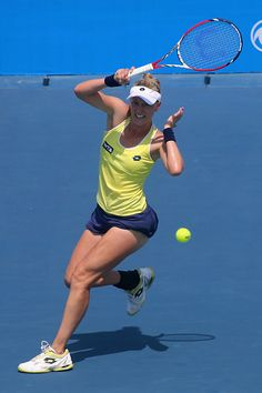 9/22/14 Alison Riske Upset #11-Seed Sara Errani 6-4, 6-4 to advance to the 3rd rd of the Inaugural Wuhan Open.