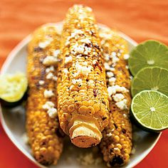 Grilled Corn With Chipotle Butter    Give a kick to your corn by brushing with butter flavored with chipotle chilis and lime juice and topping with queso fresco. You'll still get the sweet taste of corn (and immune-boosting vitamin A), but with an additional spicy flavor.