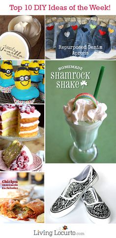 10 Great DIY Crafts & Recipe Ideas of the Week!