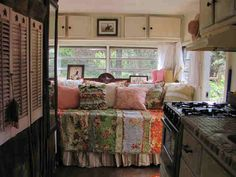 cute trailer interior