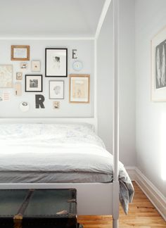 Bedroom frame wall
