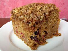 CrockPot Cranberry Coffee Cake
