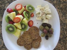 A DIY snack that fits the '5 piece puzzle' principle from my newest book S.A.S.S! Yourself Slim