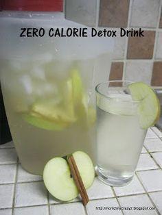 appl water, detox drinks, detox appl