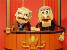 Lego Statler and Wal