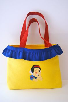 Snow White Inspired Tote Bag on Etsy, $23.00