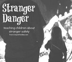 tips for teaching children stranger danger from crayonfreckles.com