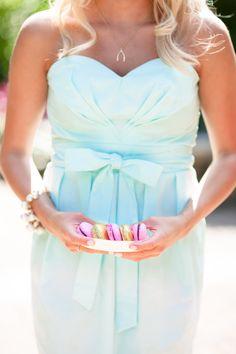bow bridesmaid dress
