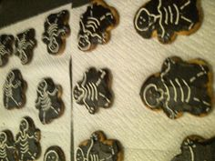 Xray cookies for the letter x-snack