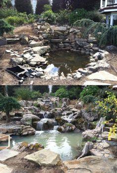 Transformation by Atlantis Water Gardens in Rockaway, NJ.