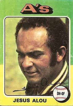 Jesus Alou- (Jesús María Rojas Alou) Bambino to Matty & Felipe  Career:  SF Giants-'63-68  Astros-'69-73/'78-79  As- '73-'74  Mets-'75