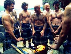 sexy Irish men in kilts