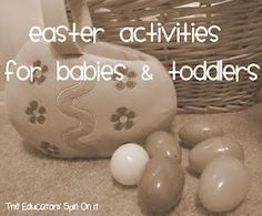 Great ideas for baby Easter!