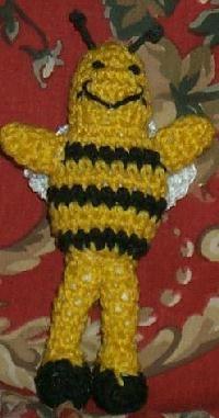 BUSY BEE - free crochet pattern