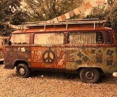 Hippie bus x