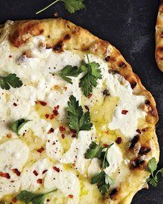 Three-Cheese Pizza