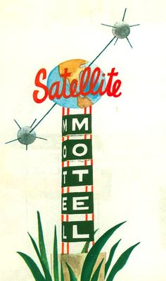 """Illustration from """"This is Cape Canaveral"""", Miroslav Sasek"""