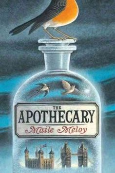 The apothecary by Maile Meloy.  Click the cover image to check out or request the teen kindle.